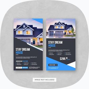 Immobilien instagram-geschichten
