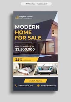 Immobilien instagram story vorlage