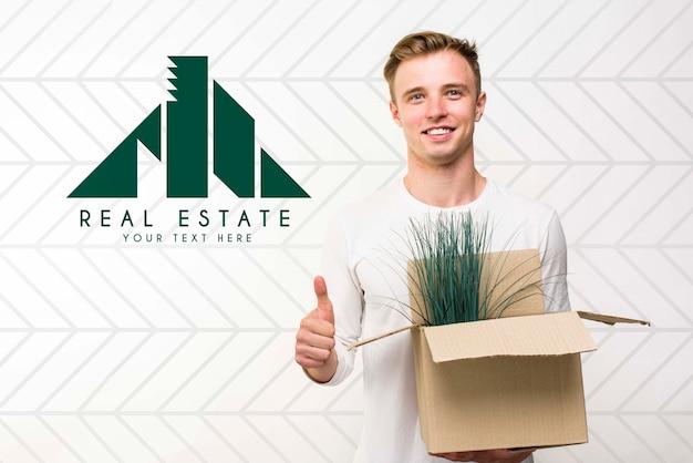 Immobilien-konzept-modell