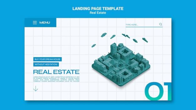 Immobilien-landingpage
