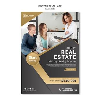 Immobilienplakatdesign