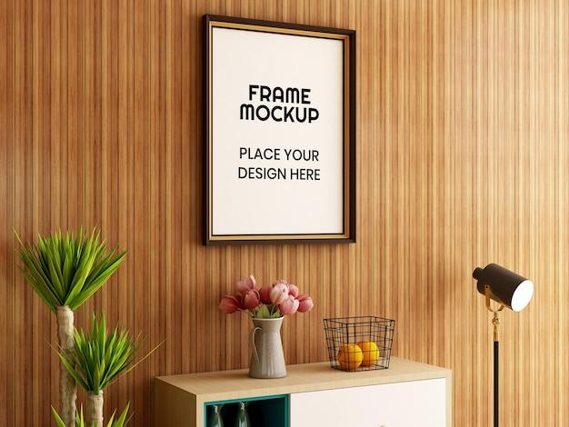 Innen wohnzimmer fotorahmen modell
