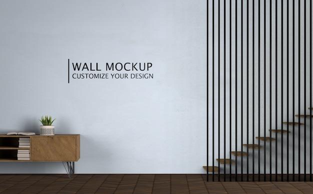 Innenarchitektur des minimalismuskonzepts