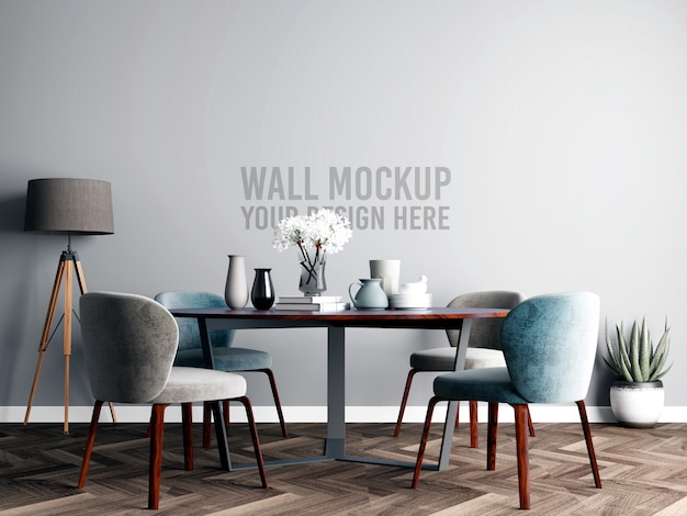 Innenesszimmer wallpaper mockup