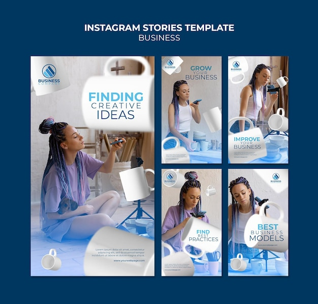 Insta-geschichten-business-template-design