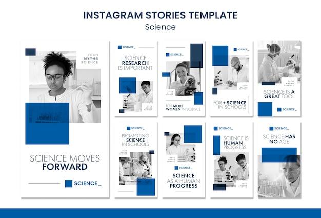 Instagram-geschichten zur wissenschaftskonferenz