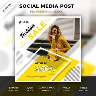 Instagram modepost