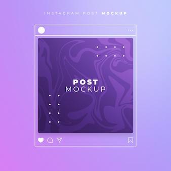 Instagram post line style modell