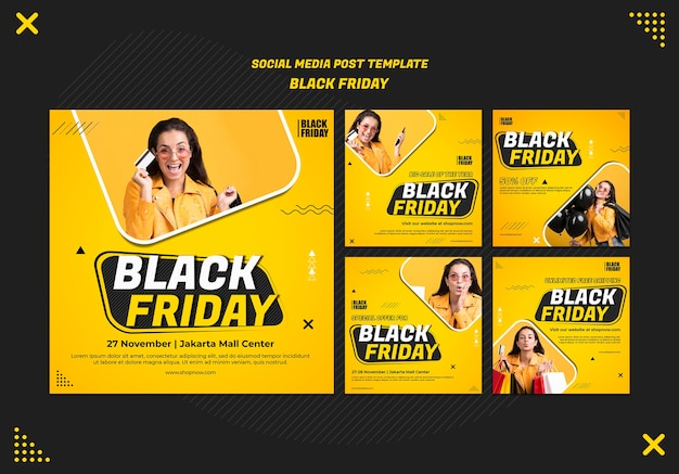 Instagram posts sammlung für black friday clearance