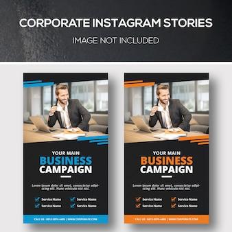 Instagram-unternehmensgeschichten