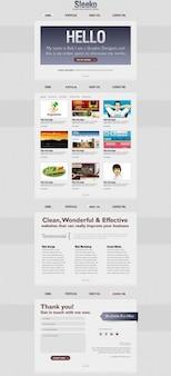 Interface template-design