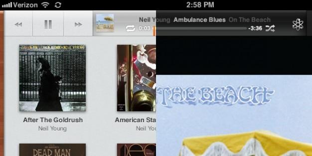 Ios5 ipad musik-app