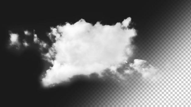 Isolierter wolkenhintergrund 1
