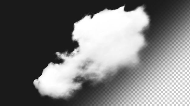 Isolierter wolkenhintergrund 4