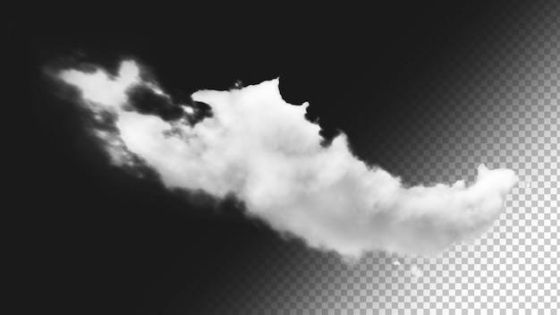 Isolierter wolkenhintergrund 8