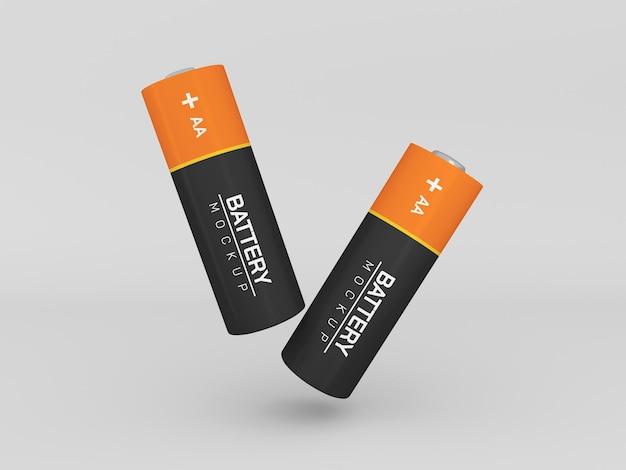 Isoliertes aa batteriemodell