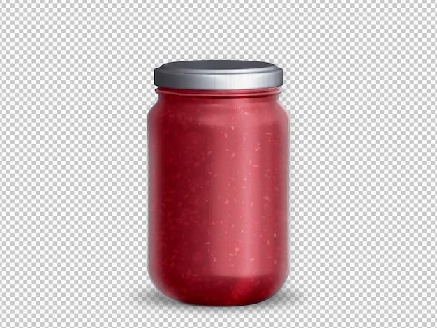 Isoliertes glas gefüllt