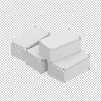 Isometrische box