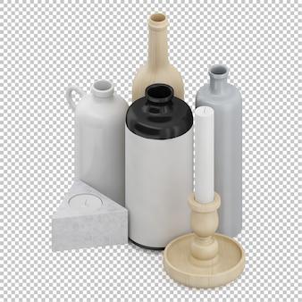 Isometrische flaschen