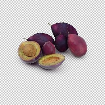 Isometrische frucht