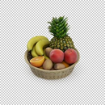 Isometrische früchte