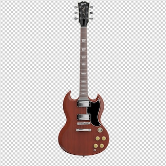 Isometrische gitarre