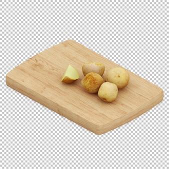 Isometrische kartoffeln