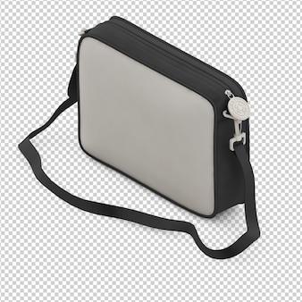 Isometrische laptoptasche