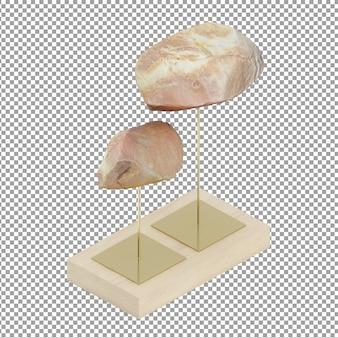 Isometrische steine dekoration