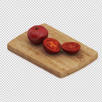 Isometrische tomate