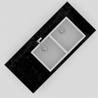 Isometrische wanne 3d übertragen