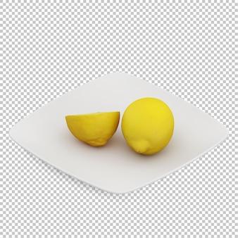 Isometrische zitronen