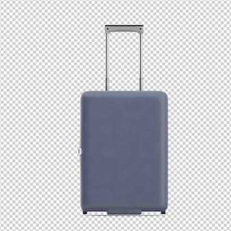 Isometrischer koffer