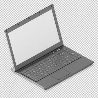 Isometrischer laptop