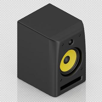 Isometrischer lautsprecher