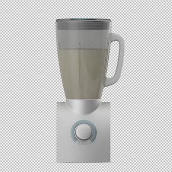 Isometrischer mixer 3d übertragen