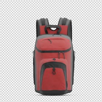 Isometrischer rucksack