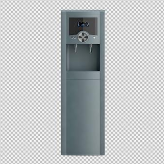 Isometrischer wasserspender