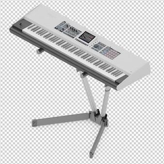 Isometrisches elektronisches klavier