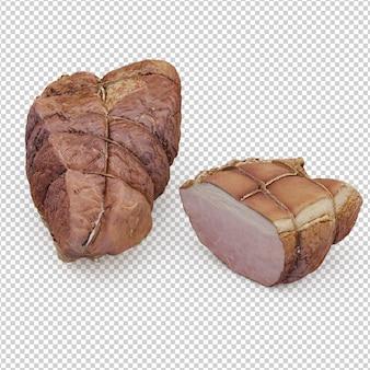 Isometrisches fleisch