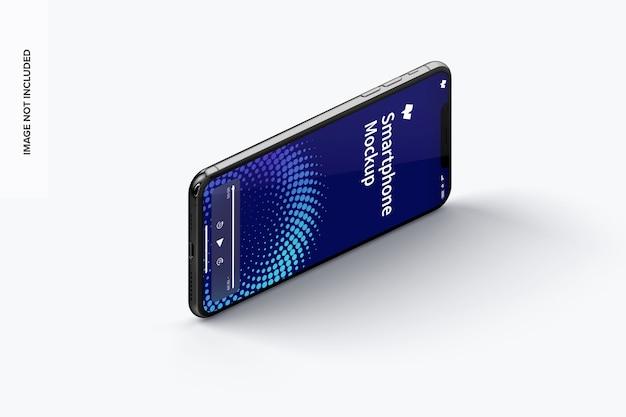 Isometrisches smartphone-modell