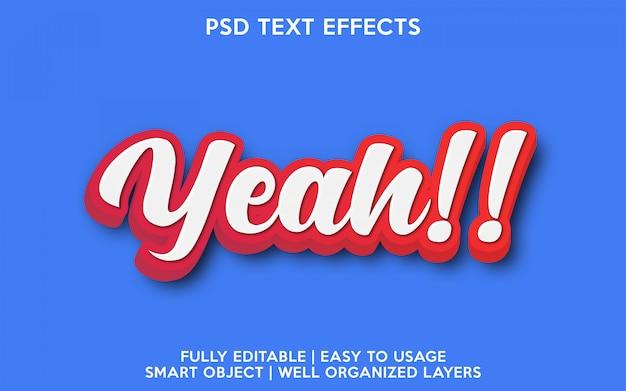 Ja, texteffekt