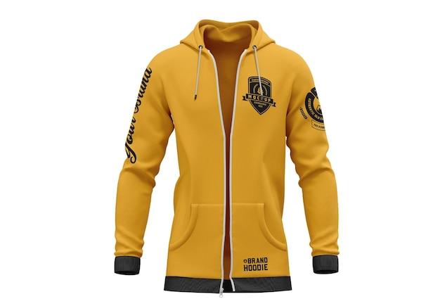 Jacke sweatshirt hoodie mockup