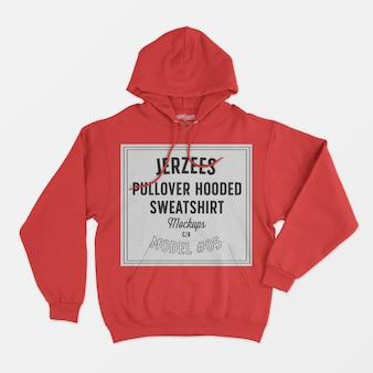 Jerzees pullover mit kapuze sweatshirt modell 05