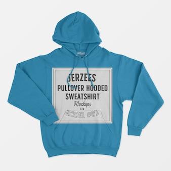 Jerzees pullover mit kapuze sweatshirt modell