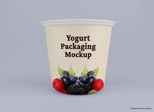 Joghurtbecher-paketmodell
