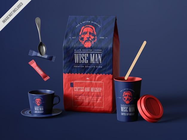 Kaffee-branding-mockup-paket