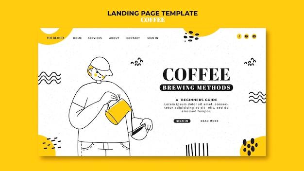 Kaffee-landingpage