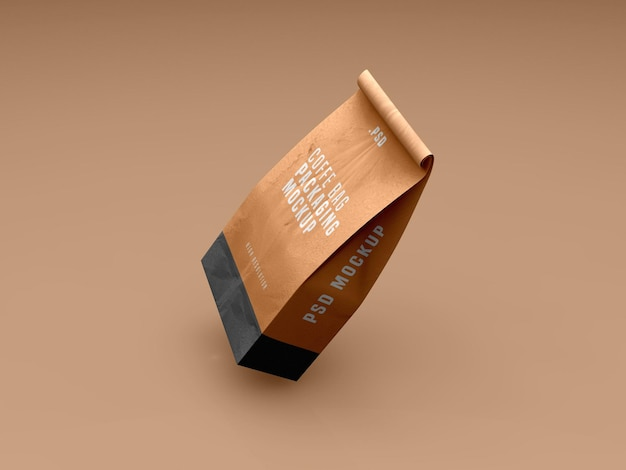 Kaffeebeutel-paketmodell