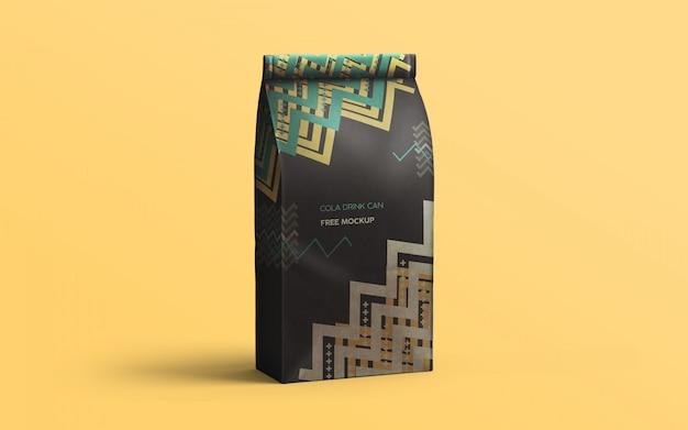 Kaffeebeutel stehend